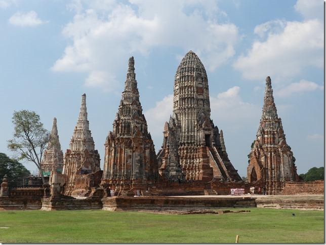 Ayyuthaya - Temples - Wat Chaiwatthanaram (9)