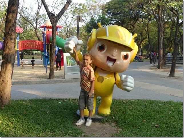 Bangkok - Parc Lumphini (56)