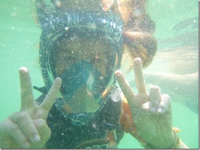 Bivouac plage Noël - sous l'eau (10)