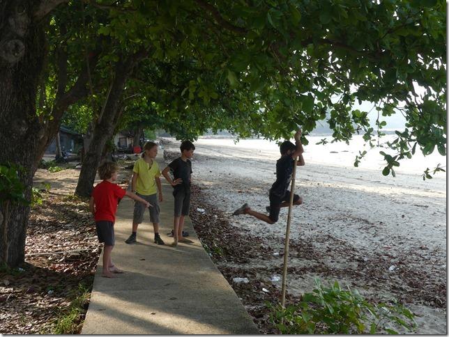 Ao Nang - Bivouac Klong Muang beach avec les Molla (6)
