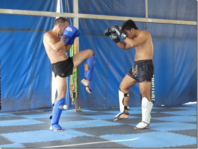 Ao Nang - Entrainement boxe thaï Miguel (12)