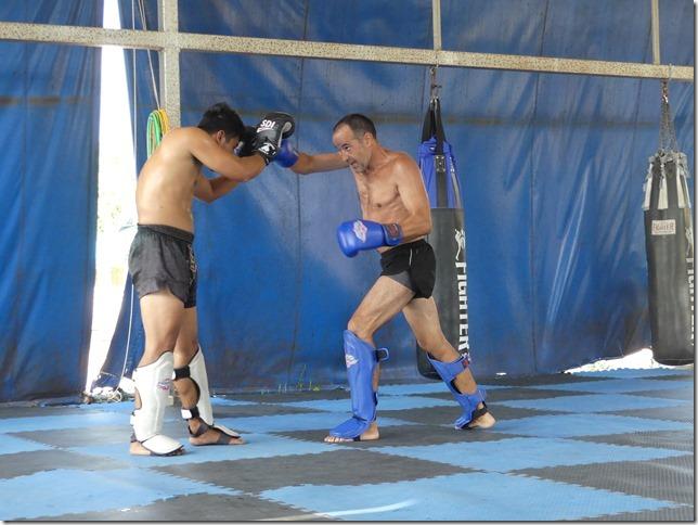 Ao Nang - Entrainement boxe thaï Miguel (20)