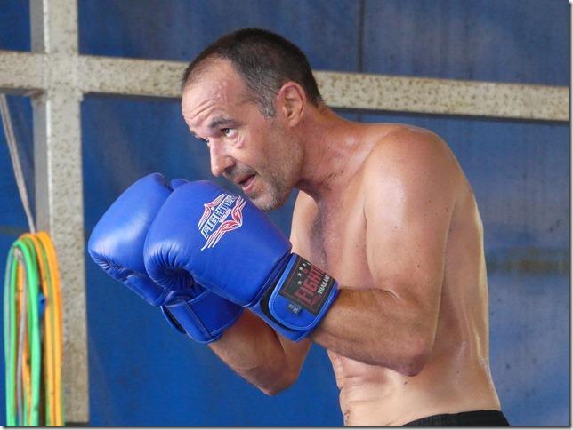 Ao Nang - Entrainement boxe thaï Miguel (26)