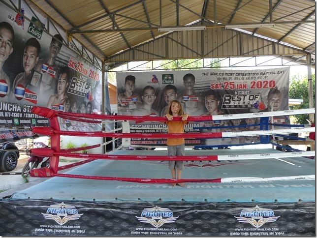 Ao Nang - Entrainement boxe thaï Miguel (28)