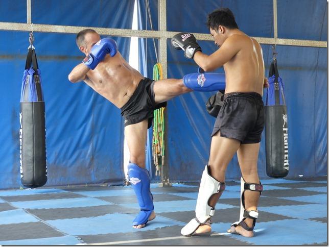 Ao Nang - Entrainement boxe thaï Miguel (7)