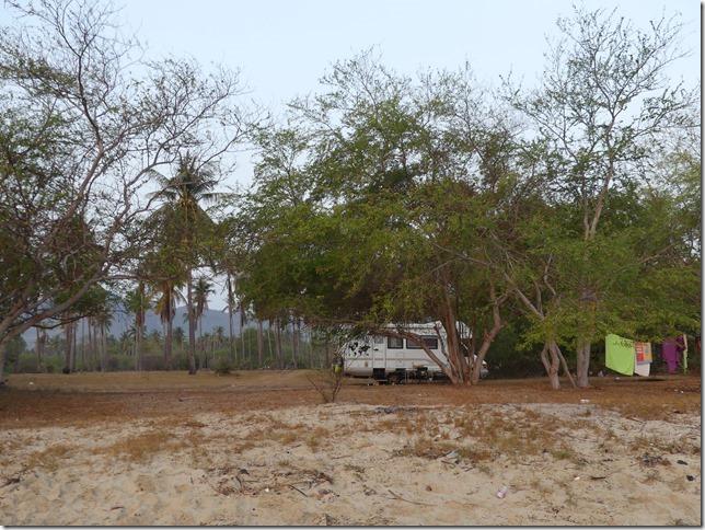 Bivouac plage sud Pran Buri (31)