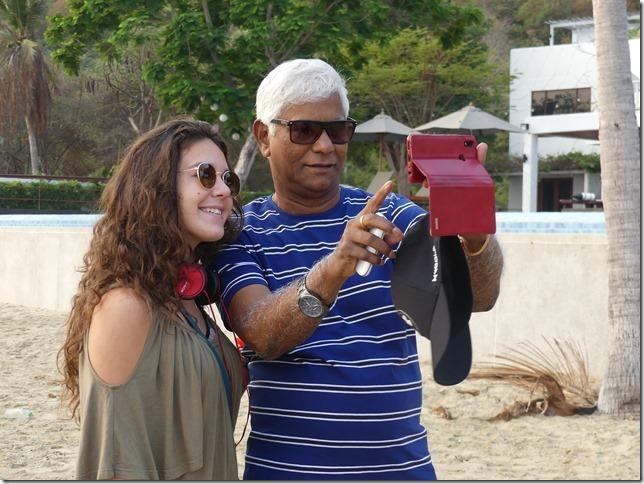 Bivouac plage sud Pran Buri - tournage film indien (30)