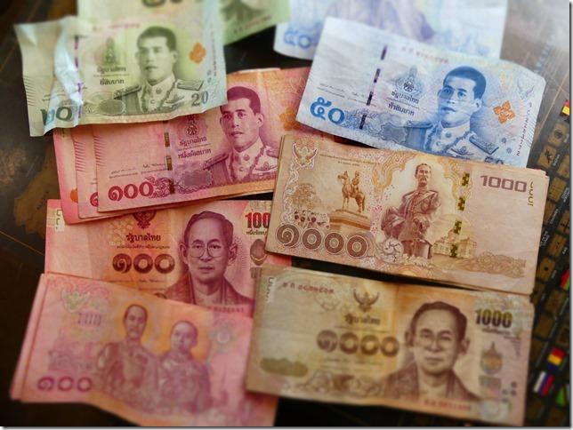 Divers - monnaie thailandaise - le bath (4)