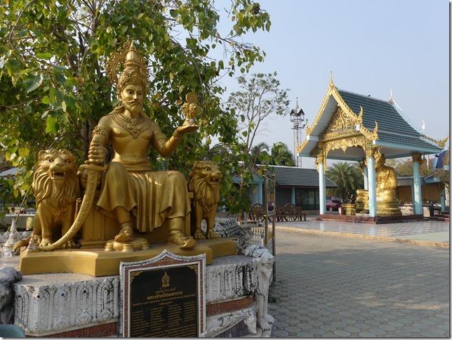 Sur la route - bivouac temple (4)