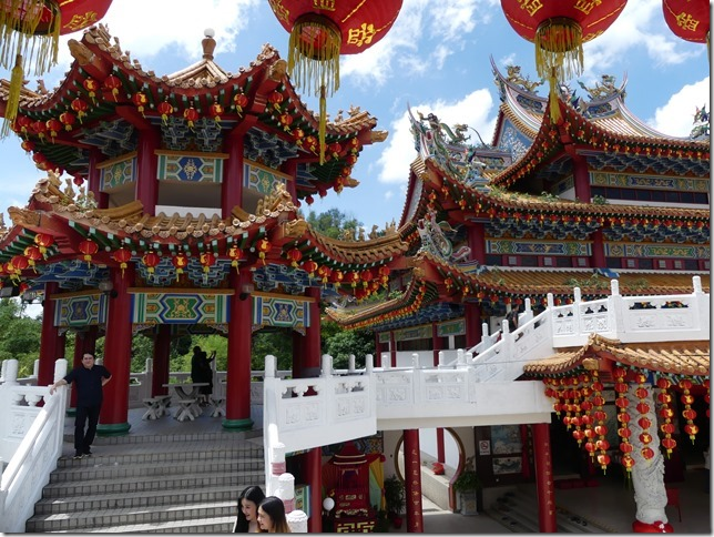 Kuala Lumpur - Thean Hou Temple chinois (20)