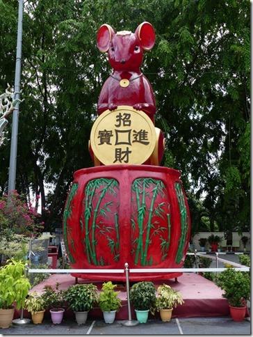Kuala Lumpur - Thean Hou Temple chinois (3)